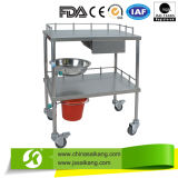 Skh002高品質の病院の医学のステンレス鋼はトロリー/Cartを薬変更する