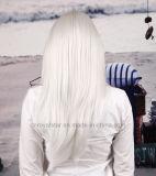 Dynamische lange Lattich-geneigte Knall-Perücke des geraden Haar-neue 2016