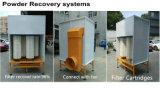 Cabina automatica della vernice della polvere di alta efficienza con il sistema di ripristino del filtro