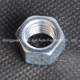 Noix Hex galvanisée d'acier du carbone DIN934
