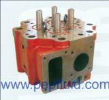 Cabeça de cilindro para motor diesel Wartsila baixa velocidade Marinha Wartsila W-X40