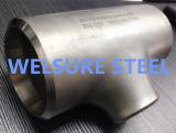 Acero inoxidable de la instalación de tuberías que reduce la te