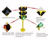 Schule, die 125mm 4 Aspekte bewegliche LED-Ampel unterrichtet