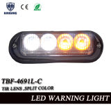 Ambluance 또는 경찰차 (TBF-4691L-C)를 위한 쪼개지는 색깔 LED 자동 석쇠 Lightheads