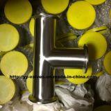 aço inoxidável sanitário do T igual de 3A Triclamp