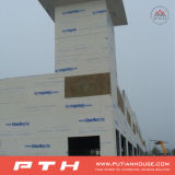 倉庫としてプレハブの鉄骨構造の建物か研修会または工場