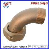 Válvula de cobre amarillo del radiador