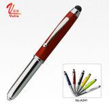 La mejor pluma de la escritura pluma de bola del metal de la luz LED en la venta