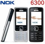 Geopende Nokya 6300 Geopende GSM van de Telefoon van de Staaf van de Camera Klassieke Mobiele a+