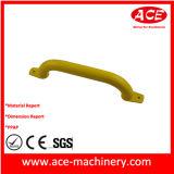 Желтая ручка металла OEM покрытия порошка цвета