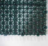 "Entfernbarer blockierender modularer Fußboden des Sport-12 "" X12 "" (Nicecourt- Goldsilber-Bronze)"
