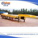 Remorque à plat de barre d'attraction de tombereau hydraulique d'essieux de la qualité 3