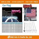 Bandierina/bandiera su ordinazione del Windsock dell'automobile del poliestere della visualizzazione di stampa