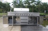 Griglia esterna commerciale del gas del BBQ della cucina di alta qualità con Ce