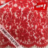 Tessuto variopinto del merletto del cotone di Strech per il vestito