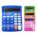 12 dígitos se doblan calculadora de escritorio de la potencia con la función opcional de Gt&Mu (LC246)