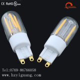 Lampe chaude de l'ampoule G9 de filament de G9 DEL avec des ventes directes d'usine d'UL de RoHS de la CE