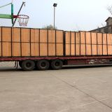Transporte de correia curvado horizontal interurbano