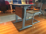 학생 책상과 의자 두 배 시트