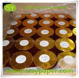 Posición Rolls del papel termal de la pulpa de madera 45GSM 60GSM