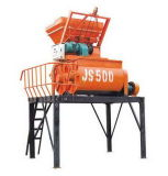 Shengy 상표 Js500 반 자동적인 전기 콘크리트와 시멘트 두 배 차축 믹서