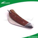 Cuchillo de madera de la manija del electricista con Hoja de acero inoxidable