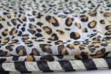 Fashion Leopard Printed Polyester女性ボイルの無限スカーフ(YKY1103)