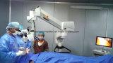 Microscopio oftálmico del funcionamiento del LED