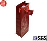 2016 sacco di carta del documento di arte di Hotsale per vino, sacchetto di elemento portante per vino, sacchetto di promozione per vino