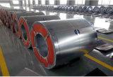 Гальванизированная верхней частью покрынная свернутая катушка крена гальванизированная штоком стальная