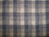 純粋なリネンヤーンの染められたヘリンボンあや織りファブリック