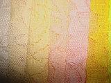 Tessuto di lavoro a maglia del merletto del fiore della Rosa dello Spandex
