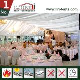 Barraca luxuosa do casamento para 500 povos em África do Sul