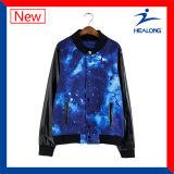 Healong dernière conception de la veste d'impression couleur-sublimation