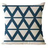 幾何学デザインはMOQデジタル印刷の投球枕クッションをカスタマイズしない