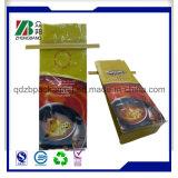 Seitlicher Stützblech-Plastikbeutel für Kaffee