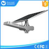 Solarstraßenlaterne fähig zur willkürlichen Umdrehung des Solarvorstand-Winkels
