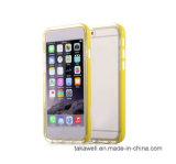 Caisse légère en gros de téléphone cellulaire de la Chine DEL Selfie de prix bas pour le cas mobile de la couverture 6 de l'iPhone 5