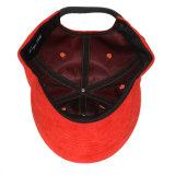 Gorra de béisbol del ante de las mujeres del papá del panel del bordado 6