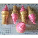 子供のためのアイスクリームの石鹸の泡のブロア