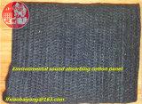 Couverture acoustique de feutre acoustique insonorisé de laines d'isolation de plafond de fibre de polyester