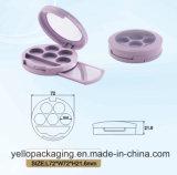 Gamma di colori personalizzata dell'ombretto di caso del fondamento della polvere (YELLO-175)