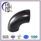Encaixe de aço da solda de extremidade cotovelo longo do raio do aço de carbono de 90 graus para vendas por atacado