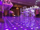 O profissional 2016 de venda quente efetua o diodo emissor de luz impermeável econômico Dance Floor de 61*61cm