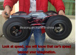 Brushless 4WD control remoto 1/10 Escala Electric RC Car Negro Cuerpo