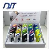 Logo personnalisé Nouveautés populaires Rechargeable Mini USB Cigarette Plus léger