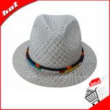 Chapéu de Sun do chapéu de palha do papel do chapéu do Fedora