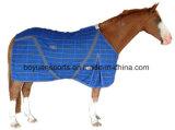 Manta polar del caballo del paño grueso y suave de la alta calidad 280g
