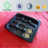 La Cina Factory Gold Supplier Seafood Market Hot Sale 265mm Oyster Packing Tray