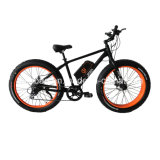 Crank Motor TDE00L를 가진 뚱뚱한 Tyre Electric Bicycle 26 Inch